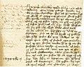 Brev från Mikael Agricola till Nils Bielke 1549.jpg