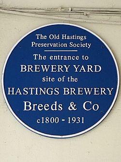 Brewery yard (hastings)