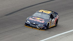 Red Bull Racing Team - Brian Vickers driving for Red Bull in 2007 at Texas Motor Speedway.