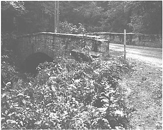 National Register of Historic Places listings in Dauphin County, Pennsylvania - Image: Bridge in Lykens Township No. 2