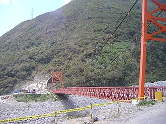 Chanchamayo Province - A bridge in the San Ramón District