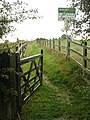 Bridleway from Locko Park to Oakwood - geograph.org.uk - 955130.jpg