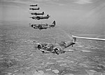 Bristol Blenheim Mk IVFs of No. 254 Squadron RAF flying from Aldergrove in Northern Ireland, May 1941. CH2992.jpg