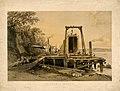 Britannia Bridge platform and construction of tubes, September 1848 (BM 1949,1011.106).jpg