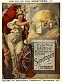 Britannia pointing to Sanatogen, Formamint, and German colon Wellcome L0023921.jpg