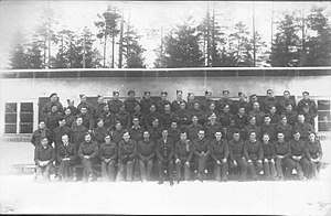 "Stalag VIII-B - British and Allied surgical patients at prisoner of war camp Stalag 344-E (VIII-B) ""Lazarett"" Feb 1944"