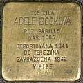 Brno Stolperstein Adele Bocková.jpg