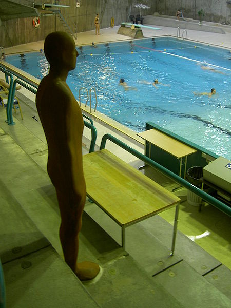 """Den """"rustne mannen"""" i svømmehallen"""