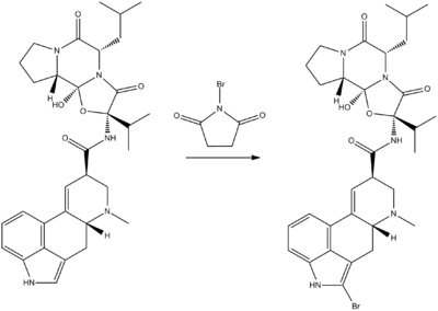 Bromocriptine synthesis.png