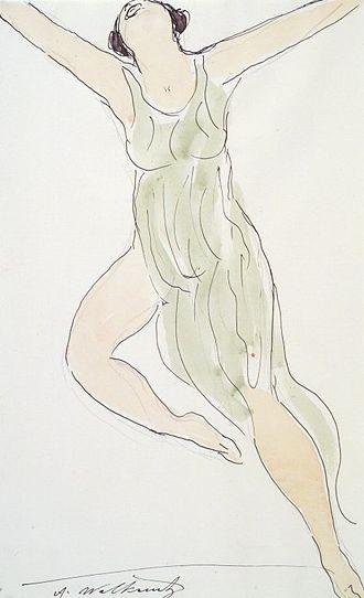 Abraham Walkowitz - Image: Brooklyn Museum Isadora Duncan 29 Abraham Walkowitz