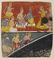 Brooklyn Museum - Rama and Lakshmana Receive Envoys Page from a Dispersed Ramayana Series.jpg