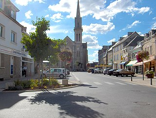 Broons Commune in Brittany, France