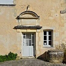 Brouage 17 Entrée maison privée XVIIe 2014.jpg
