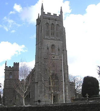 Church of St Mary, Bruton - Image: Brutonchurch