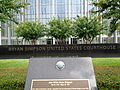 Bryan Simpson United States Courthouse building name sign.JPG