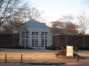 Paul W. Bryant Museum - Entrance to the Bryant Museum.