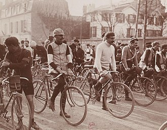 1907 Paris–Roubaix - Riders at the 1907 Paris–Roubaix