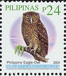 Bubo philippensis 2009 stamp of the Philippines.jpg