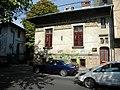 Bucuresti, Romania, Casa cu pictura exterioara, pe Str. Occidentului nr. 11, sect. 1.JPG