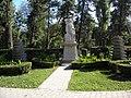 Bucuresti, Romania, Parcul Cismigiu; B-II-a-A-19655; Monumentul Soldatului Francez.JPG