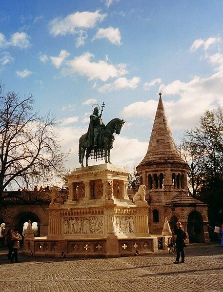 ����� ������ ������� 457px-Budapest_Denkmal_Koenig_Stephans.jpg