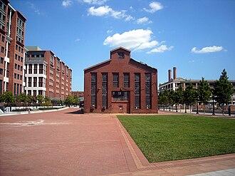 Navy Yard (Washington, D.C.) - Building 170, located behind the USDoT headquarters