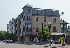 Dudley Station Historic District - Image: Building on Warren Street, Roxbury MA