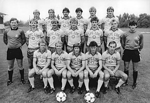 1. FC Lokomotive Leipzig - 1. Lok Leipzig team photo, 23 August 1983.