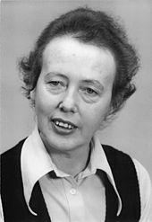 Ruth Berghaus (1975) (Quelle: Wikimedia)