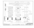 Burlington County Prison, 128 High Street, Mount Holly, Burlington County, NJ HABS NJ,3-MOUHO,8- (sheet 15 of 24).png