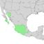 Bursera fagaroides range map 1.png
