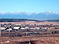 Buryat village against Sayan Mountains - panoramio.jpg