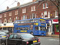 Bus in Wilmslow Road, Didsbury Village.jpg