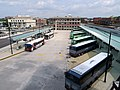 Bus terminal at Springfield Union Station, August 2018.JPG