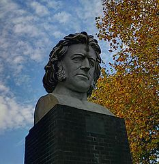 Bust Of Sir Joseph Paxton At Crystal Palace Park