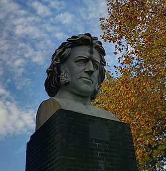 Crystal Palace Park - Bust of Joseph Paxton