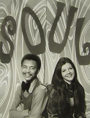 Buster Jones - Jones and Vicki Donaldson on Soul Unlimited in 1973