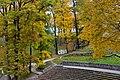 Cēsu pils parks rudenī. Cesu castle park in autumn - panoramio.jpg