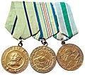 Cəlil Cavadovun döyüş medalları.jpg