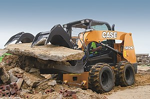 Case Construction Equipment - CASE SR210 skid steer loader.