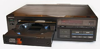 Sony CDP-101 First commercially released CD player