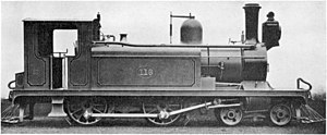 CGR 2nd Class 4-4-0T - 2nd Class Wynberg Tank numbered 116