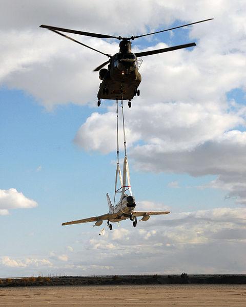 File:CH-47 lifting F-86L at Wendover Utah 2008.jpg