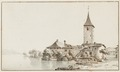 CH-NB - Ouchy, Schloss, von Südosten - Collection Gugelmann - GS-GUGE-ABERLI-F-5.tif