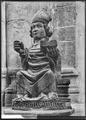 CH-NB - Sion, Basilique de Valère, Statue, vue d'ensemble - Collection Max van Berchem - EAD-8640.tif