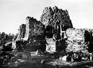 Sewu - Sewu main temple before reconstruction