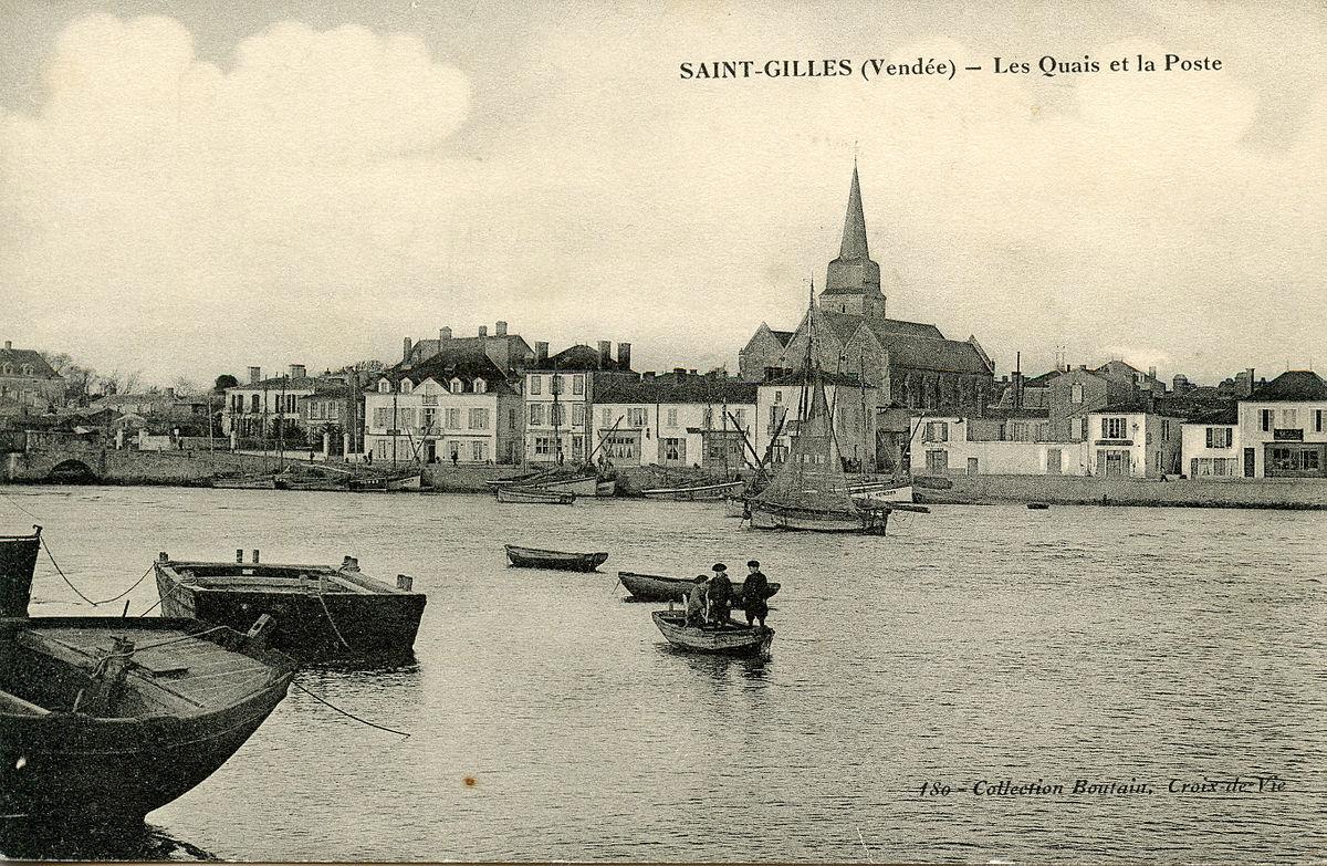 La Poste Le Poiré Sur Vie saint-gilles-sur-vie — wikipédia