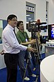 CTV News cameraman at Broadband Taiwan 20111011.jpg