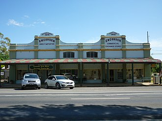 Cudal, New South Wales - Store exterior in 2015
