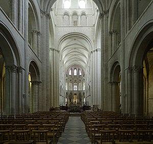 Abbey of Saint-Étienne, Caen - Interior view of St.-Étienne